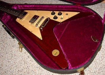 Music Legends Collection Guitare Miniature Flying V Michael Schenker